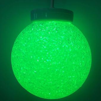 7 Colors Fiberglass Crystal Christmas Ball 20cm x-mas Light Mabuhay Star ICC Complaint - 2