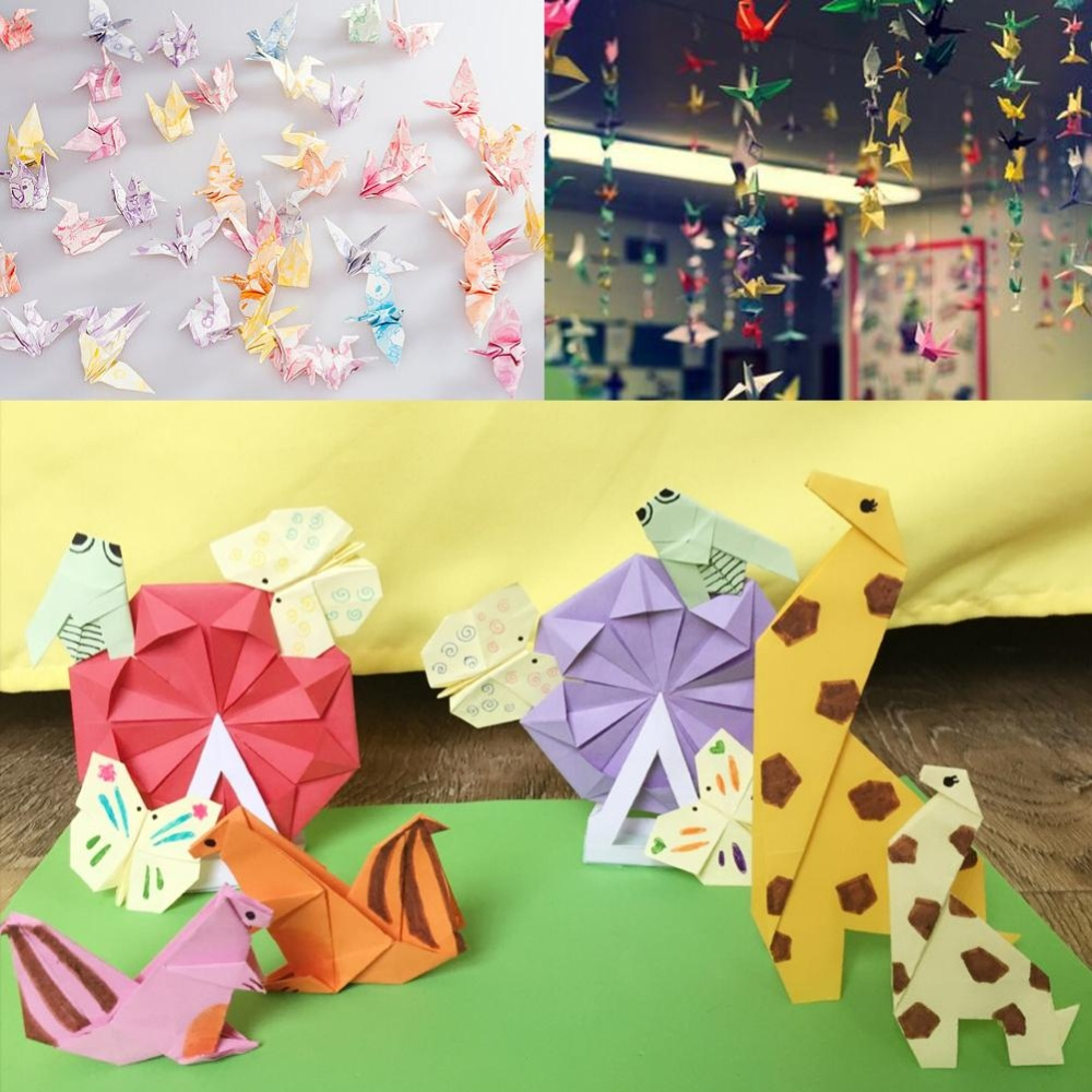 Philippines 72 Sheets 15x15cm Mix Color Square Origami Folding