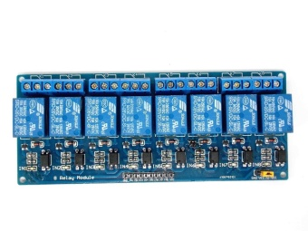 8-Channel 5V Relay Module Coupling Optocoupler High Trigger MCU - intl - 4