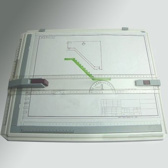 A3 Drawing Board Table with Parallel Motion and Adjustable Angle -Intl - 5