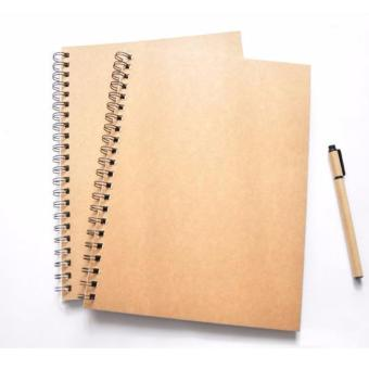 A4 70 Sheets Blank Notebook