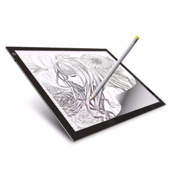 A4 Ultra-Thin Portable LED Light Box Tracer LED Artcraft TracingLight Pad Light Box Tattoo Sketch Art Photo Craft forArtists,Drawing, Sketching, Animation - intl - 2