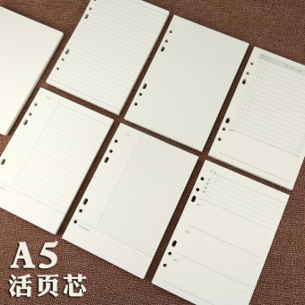A5/100g promotional notebook loose-leaf notes BENSE.O