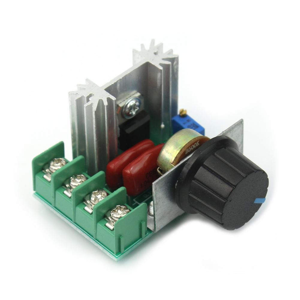 Philippines Ac New Adjustable Voltage Regulator Pwm Motor Speed Controller Switch 50v 220v 2000w 10a