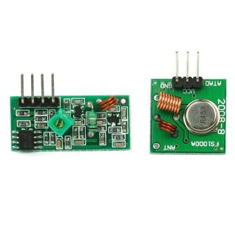 AC New RF Wireless Transmitter & Receiver Link Kit Module 433Mhz for Arduino Remote Control DIY - intl