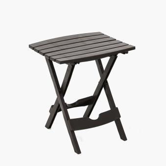 Adams Quik Fold Side Table (Earth Brown)