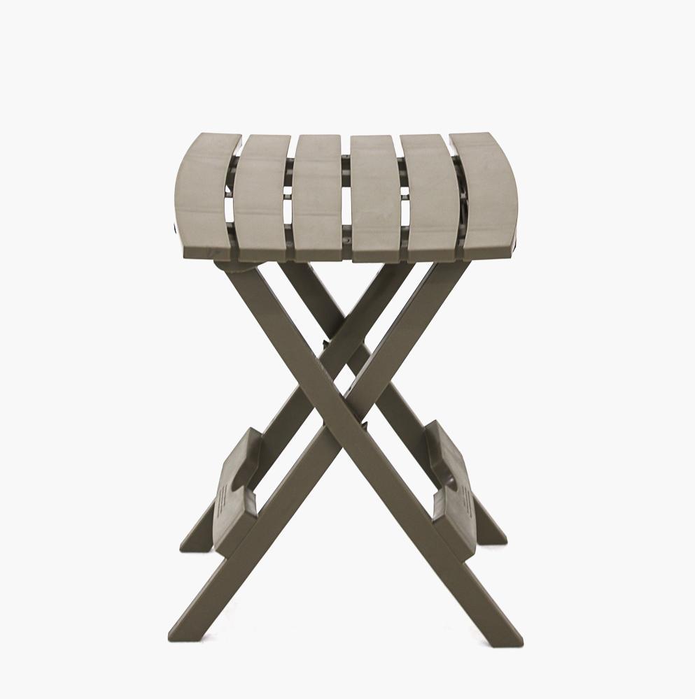 ... Adams Quik Fold Side Table (Portobello) ...