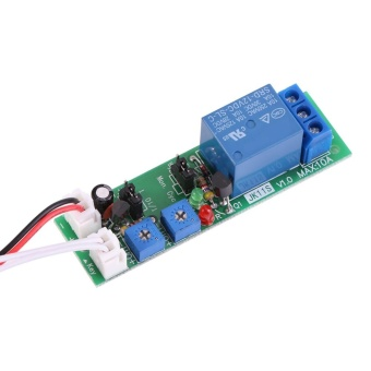 Adjustable Cycle Timer Delay On/Off Switch Relay Module(DC12V,0-24hr) - intl