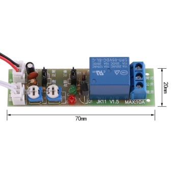 Adjustable Infinite Cycle Timer Delay On/Off Switch Relay Module (DC5V,0-60min) - intl - 5