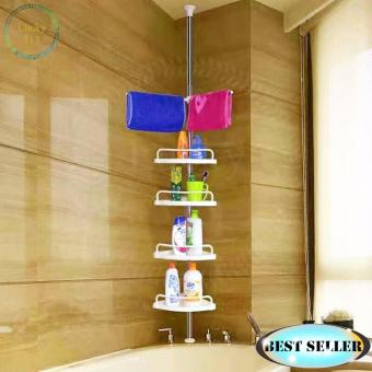Adjustable Large Multi Bathroom Corner Shelf