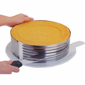 Adjustable Retractable Circular Ring Cakes Model Cake LayeredSlicer - intl Price Philippines