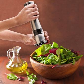Adjustable Stainless Steel Salt And Pepper Ceramic Grinder - 4