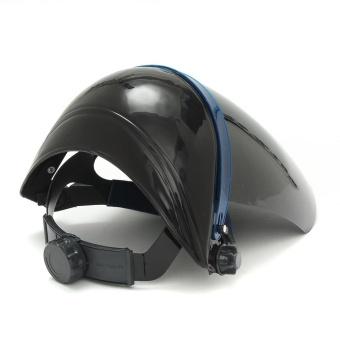 Adjustable Welding Helmet ARC TIG MIG Welder Lens Grinding Mask + Safety Goggles Black Cover + PC Black Screen - intl - 4
