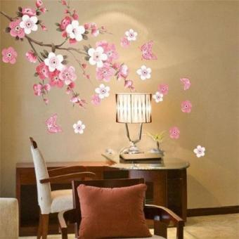 Ai Home DIY Mural Decal Sticker Plum Blossom Removable Wall Art Stickers