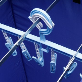 Air O Dry Portable Clothes Dryer (Blue) - 3