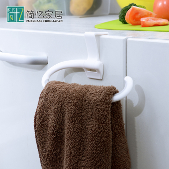 Aisen cabinet door back installation towel rack towel hanging
