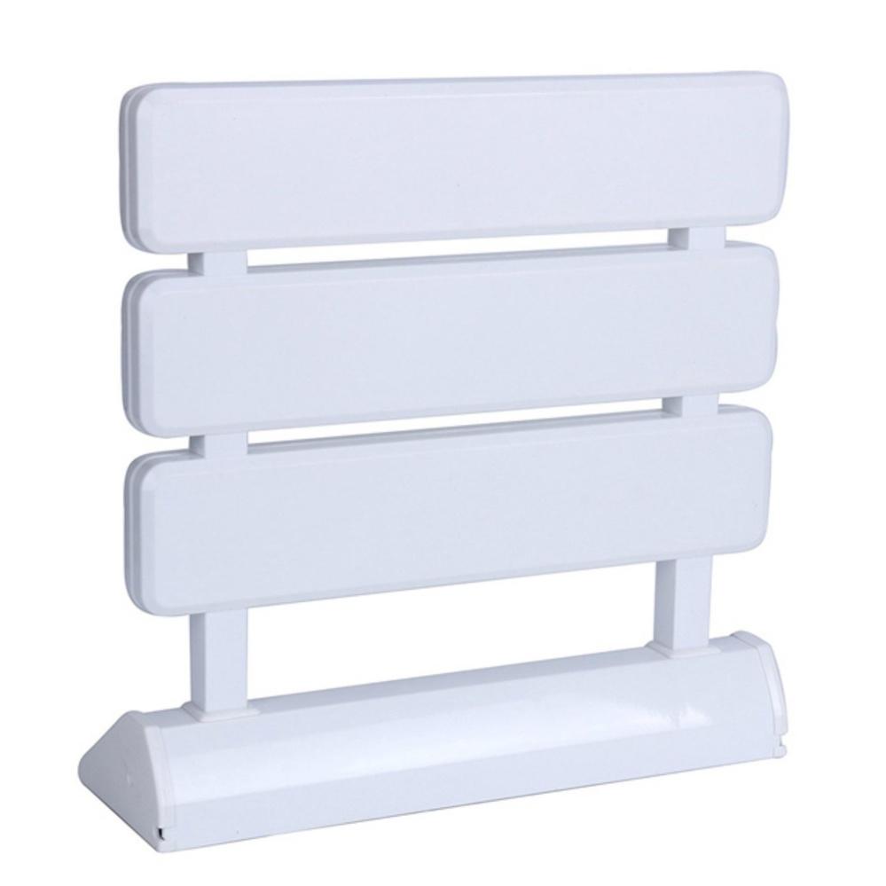 Contemporary Bathroom Shower Seat Crest - Bathroom - knawi.com