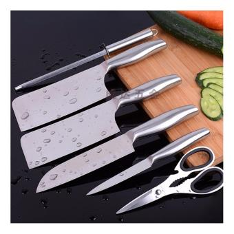All stainless steel empty knife kitchen 7in1 of knife businessgifts kitchen knife home kitchen knife high - grade sets of knivesPSF-A211