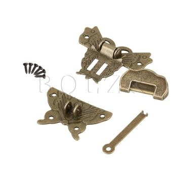 Alloy Butterfly Lock Buckle Plus Antique lock