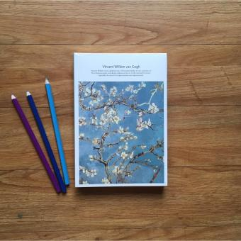 Almond Blossoms Van Gogh Sketch Book