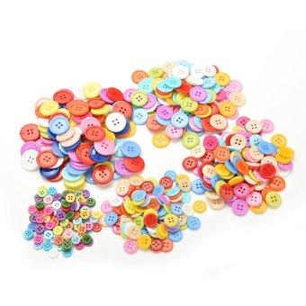 Amango Plastic Round Buttons 100pcs 15mm