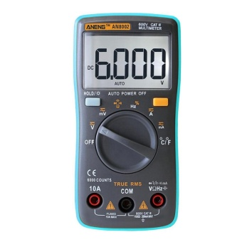 ANENG AN8002 Digital Multimeter 6000Counts AC/DC AmmeterTemperature Tester - intl