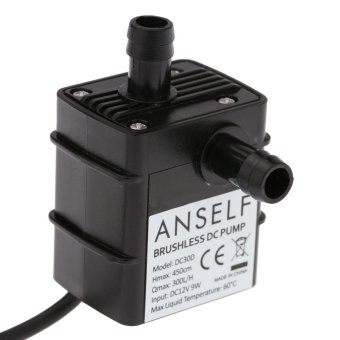 Anself Ultra-quiet Mini DC12V 9W Micro Brushless Water Oil Pump - INTL Price Philippines