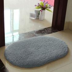 Anti Skid Fluffy Absorbent Area Rug Home Bathroom Floor Shower Door Mat  Coffee