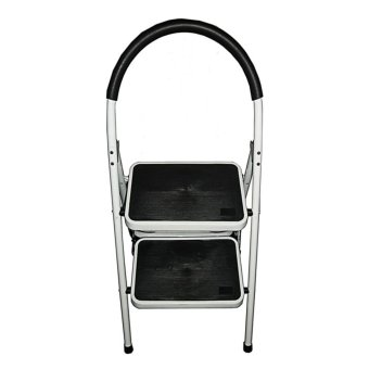 Anti-Slip 2-Step Ladder SL-102B (White/Black)