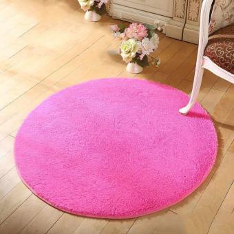Anti Slip Living Room Round Floor Mat Rug   Intl