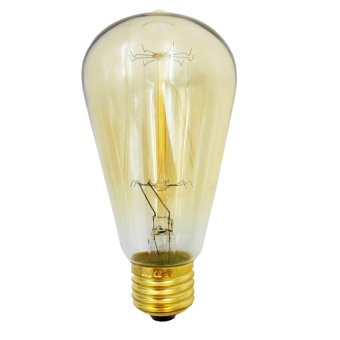 Antique Edison Bulb ST64 E27 40W Squirrel Cage Filament Incandescent Clear Glass Dimmable light Bulb