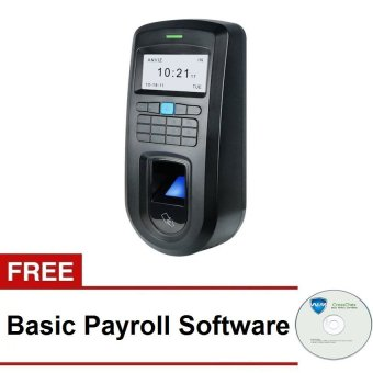 ANVIZ VF30 Time Attendance Biometric and Access Control forAutomatic Magnetic Door Lock with FREE Payroll Software