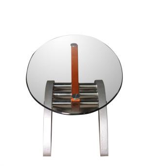 Arcs & Oval Coffee Table - 3