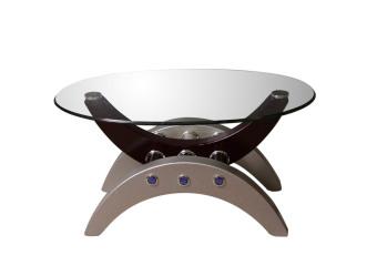 Arcs & Oval Coffee Table - 4