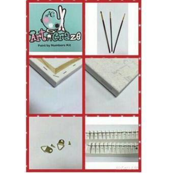 Art Craze Audrey Paint by Numbers Kit - 2