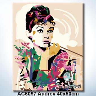 Art Craze Audrey Paint by Numbers Kit