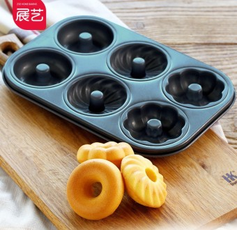 Art exhibition round hollow cake mold donut cake mold