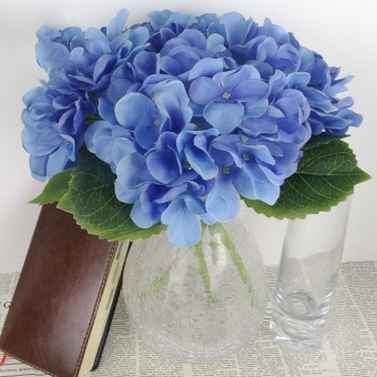 Artificial Flower Hydrangea Wedding Bouquet Home Decor - intl