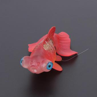 Artificial Silicone Swim Electronic Robofish Toy Fish Robotic Fishing Tank (Red) - intl - 5