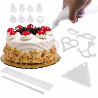 As Seen on TV 100 Piece Cake Decorating Kit with Instruction Book and FREE Plastic Storage Box