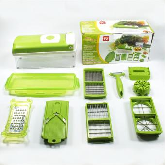 As seen on TV 12 in 1 Super Slicer Plus Vegetable Fruit PeelerDicer Cutter Chopper Nicer Grater