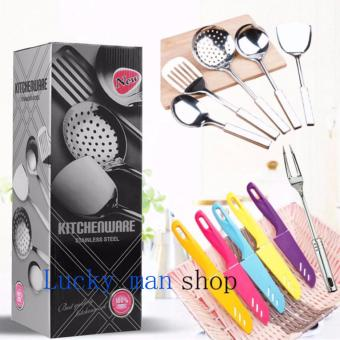 As Seen On TV Malaysia 11 in 1 Stainless Steel Kitchen Utensil andknife Set best gift