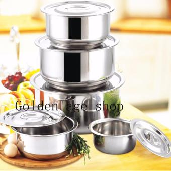 AS SEEN ON TV Stainless Steel 10 in 1 Stock Multifunction Pot