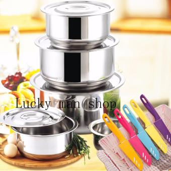 AS SEEN ON TV Stainless Steel 15 in 1 Stock Multifunction Pot
