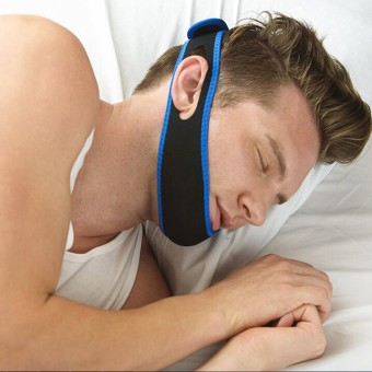 Audew Anti Snore AntiSnore Device Jaw Brace Stop Snoring Solution Chin Support Strap NEW - intl