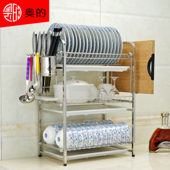 Audia wash dishes water draining dish rack stainless steel dish rack