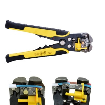 Automatic Electric Cable Wire Stripper Wire Striper Multifunctional Cutter Crimper Crimping Decrustation Pliers Terminal Tool HT469