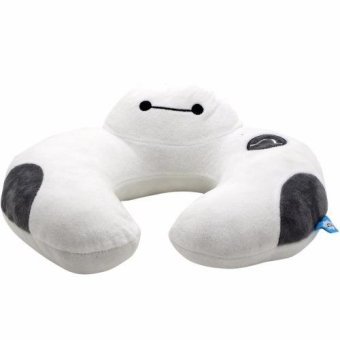 Avengers U Shaped Travel Pillow Neck Support Head (White)