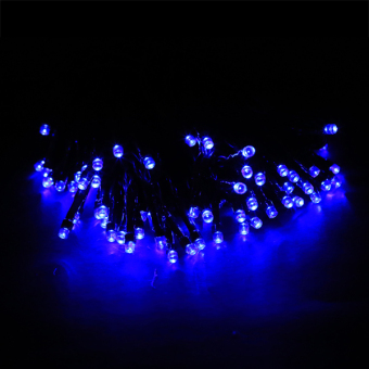 AZONE 60 LED Ball string lamps Christmas Lights for Outdoor Christmas Party Decoration (Blue)