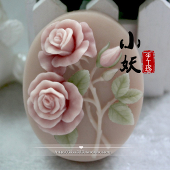 B1022diy rose handmade fragrant soap